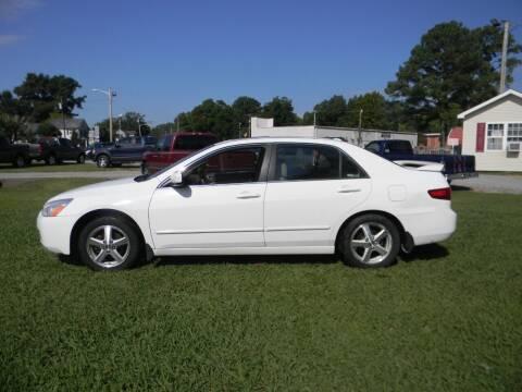 2005 Honda Accord for sale at SeaCrest Sales, LLC in Elizabeth City NC