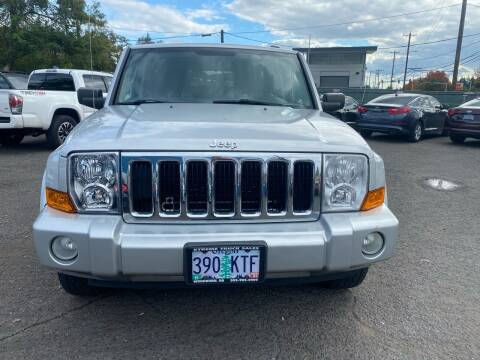 2008 Jeep Commander for sale at JZ Auto Sales in Happy Valley OR