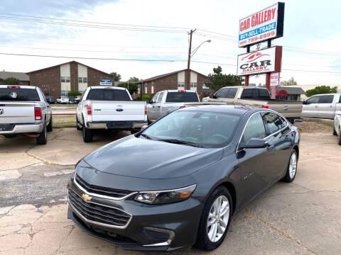 2016 Chevrolet Malibu for sale at Car Gallery in Oklahoma City OK