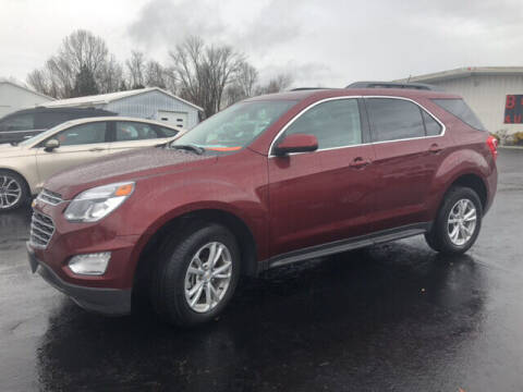 2017 Chevrolet Equinox for sale at B & W Auto in Campbellsville KY