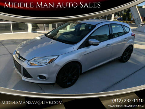 2013 Ford Focus for sale at Middle Man Auto Sales in Savannah GA
