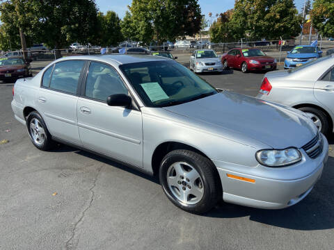 2003 Chevrolet Malibu for sale at Pacific Point Auto Sales in Lakewood WA