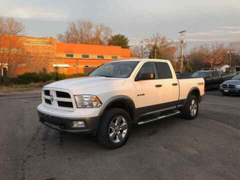 2010 Dodge Ram Pickup 1500 for sale at DILLON LAKE MOTORS LLC in Zanesville OH