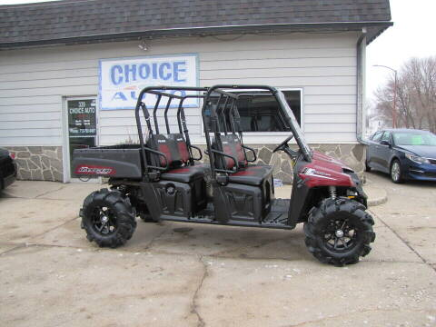 2014 Polaris Ranger for sale at Choice Auto in Carroll IA