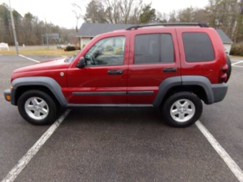 2007 Jeep Liberty for sale at West End Auto Sales LLC in Richmond VA