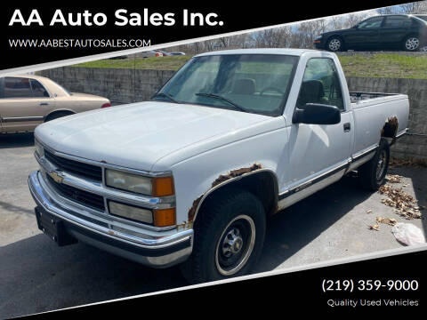 2000 Chevrolet C/K 2500 Series for sale at AA Auto Sales Inc. in Gary IN