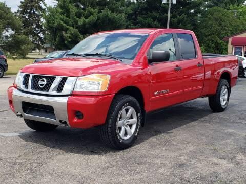 2010 Nissan Titan for sale at Thompson Motors in Lapeer MI