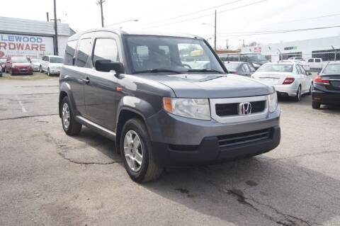 2010 Honda Element for sale at Green Ride Inc in Nashville TN