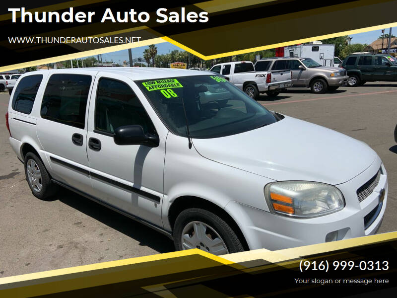 Used Chevrolet Uplander For Sale In California Carsforsale Com