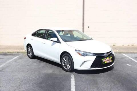 2017 Toyota Camry for sale at El Patron Trucks in Norcross GA