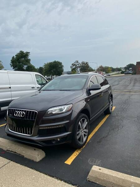 2012 Audi Q7 for sale at Wida Motor Group in Bolingbrook IL