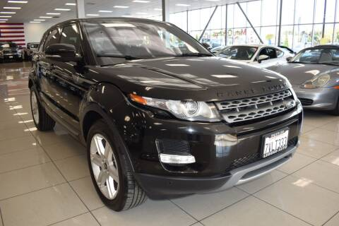 2013 Land Rover Range Rover Evoque for sale at Legend Auto in Sacramento CA