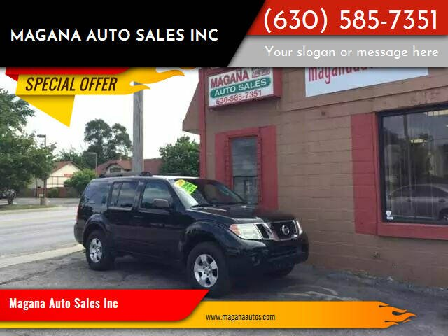 2008 Nissan Pathfinder for sale at Magana Auto Sales Inc in Aurora IL