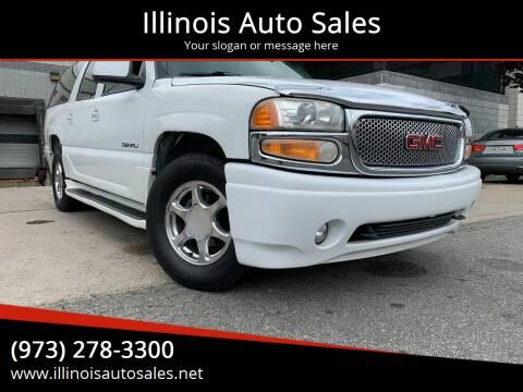 2002 GMC Yukon XL for sale at Illinois Auto Sales in Paterson NJ