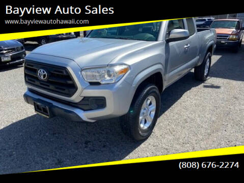 2016 Toyota Tacoma for sale at Bayview Auto Sales in Waipahu HI