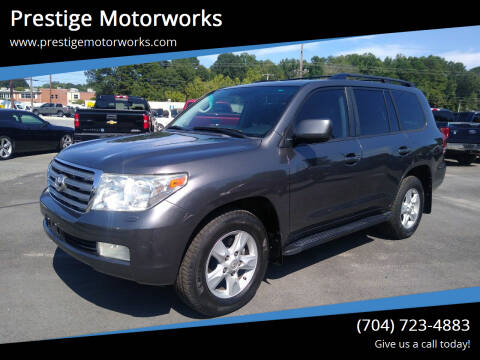 2008 Toyota Land Cruiser for sale at Prestige Motorworks in Concord NC