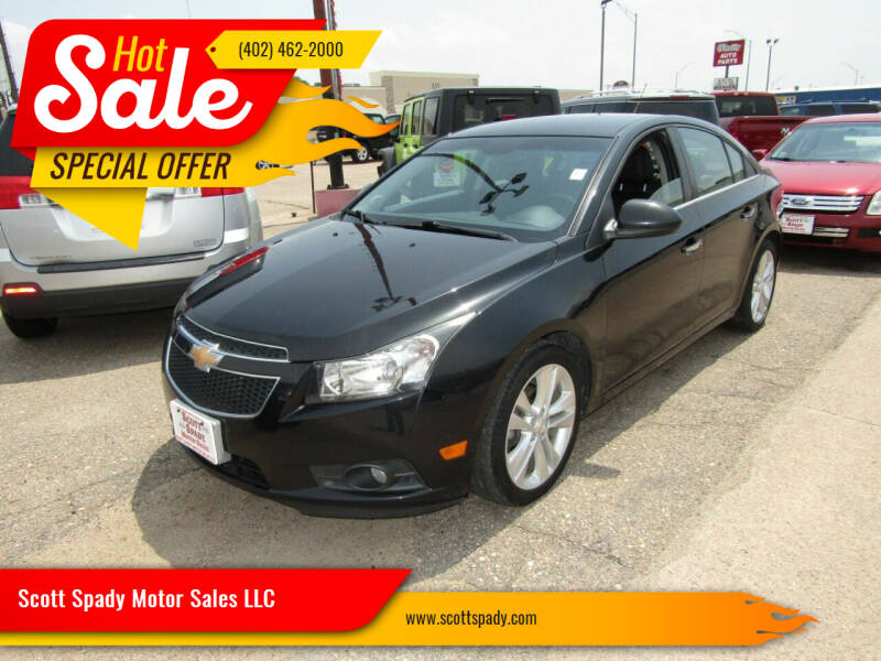 2014 Chevrolet Cruze for sale at Scott Spady Motor Sales LLC in Hastings NE