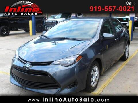 2019 Toyota Corolla for sale at Inline Auto Sales in Fuquay Varina NC