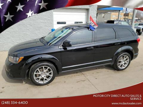 2014 Dodge Journey for sale at Motor City Direct Auto Sales & Service in Pontiac MI