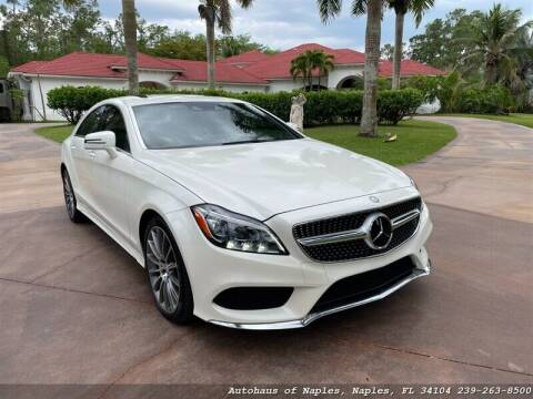 2016 Mercedes-Benz CLS for sale at Autohaus of Naples Inc. in Naples FL