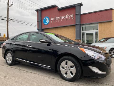 2012 Hyundai Sonata Hybrid for sale at Automotive Solutions in Louisville KY