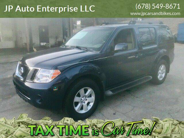 2009 Nissan Pathfinder for sale at JP Auto Enterprise LLC in Duluth GA