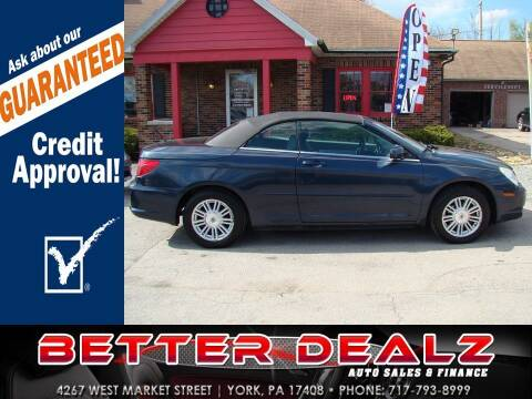 2008 Chrysler Sebring for sale at Better Dealz Auto Sales & Finance in York PA