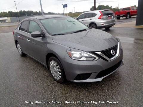 2017 Nissan Sentra for sale at Gary Simmons Lease - Sales in Mckenzie TN