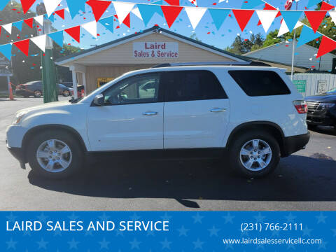 2010 GMC Acadia for sale at LAIRD SALES AND SERVICE in Muskegon MI