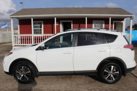 2018 Toyota RAV4 for sale at AMT AUTO SALES LLC in Houston TX