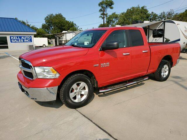 2017 RAM Ram Pickup 1500 for sale at Kell Auto Sales, Inc - Grace Street in Wichita Falls TX