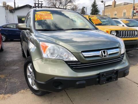 2007 Honda CR-V for sale at Jeff Auto Sales INC in Chicago IL