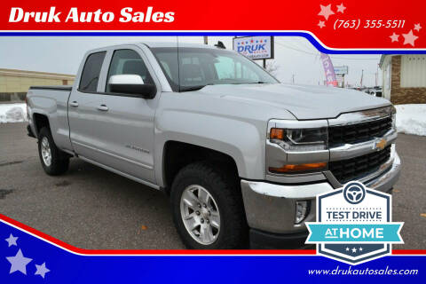 2017 Chevrolet Silverado 1500 for sale at Druk Auto Sales in Ramsey MN