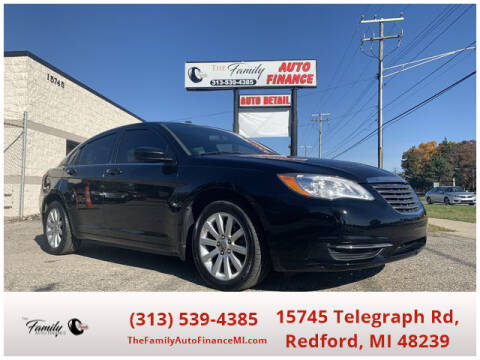 2012 Chrysler 200 for sale at The Family Auto Finance in Redford MI