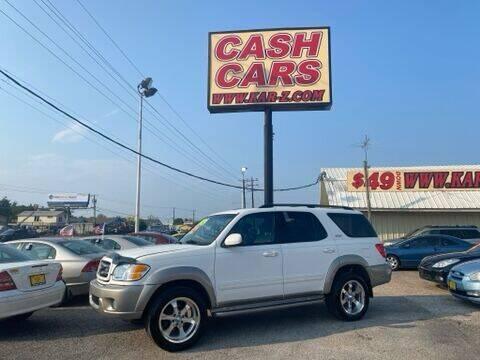 2004 Toyota Sequoia for sale at www.CashKarz.com in Dallas TX