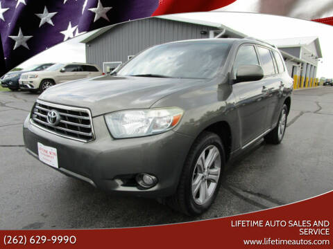 2008 Toyota Highlander for sale at Lifetime Auto Sales and Service in West Bend WI