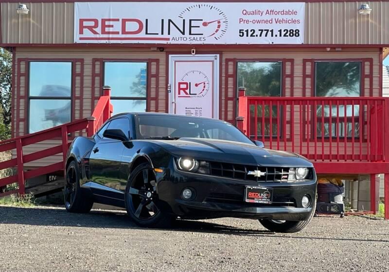 2011 Chevrolet Camaro for sale at REDLINE AUTO SALES LLC in Cedar Creek TX