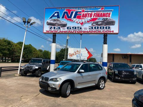 2010 BMW X5 for sale at ANF AUTO FINANCE in Houston TX