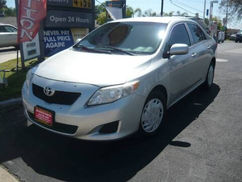 2009 Toyota Corolla for sale at Bill's Used Car Depot Inc in La Mesa CA