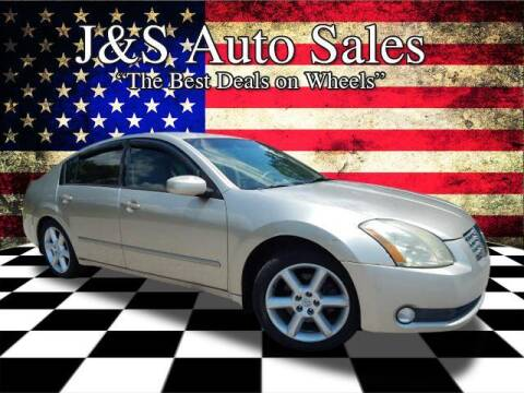 2005 Nissan Maxima for sale at J & S Auto Sales in Clarksville TN