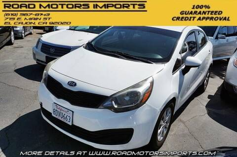 2013 Kia Rio for sale at Road Motors Imports in El Cajon CA