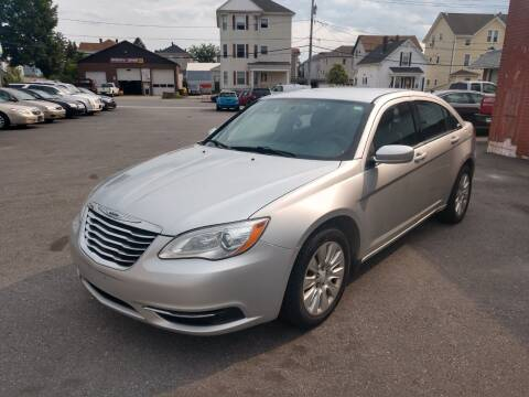 2012 Chrysler 200 for sale at A J Auto Sales in Fall River MA