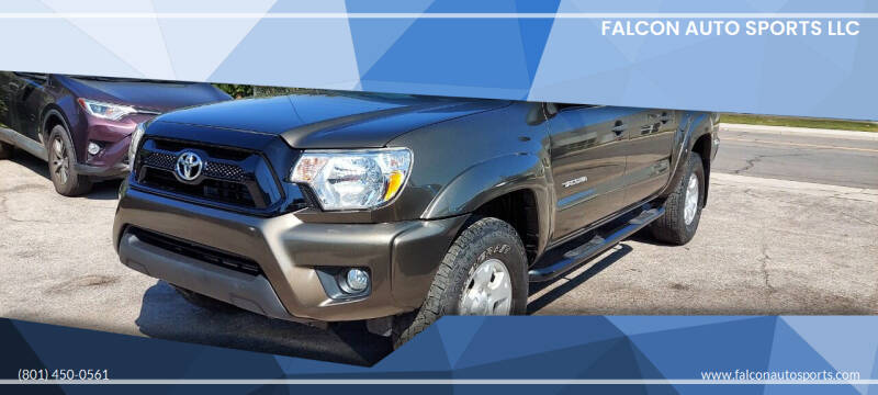 2015 Toyota Tacoma for sale at Falcon Auto Sports LLC in Murray UT