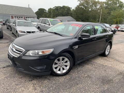 2011 Ford Taurus for sale at MBM Auto Sales and Service - MBM Auto Sales/Lot B in Hyannis MA