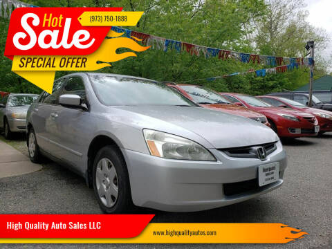 2005 Honda Accord for sale at High Quality Auto Sales LLC in Bloomingdale NJ