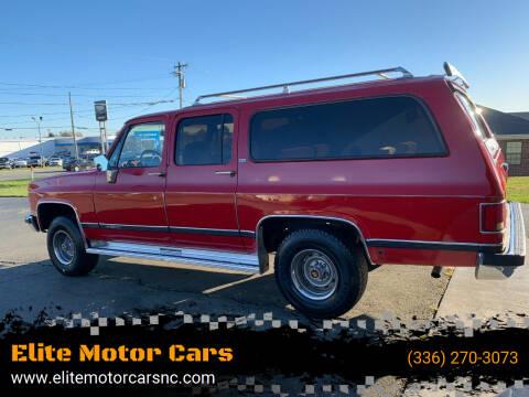 1989 Chevrolet Suburban for sale at Elite Motor Cars in Burlington NC