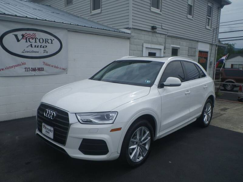 2016 Audi Q3 for sale at VICTORY AUTO in Lewistown PA