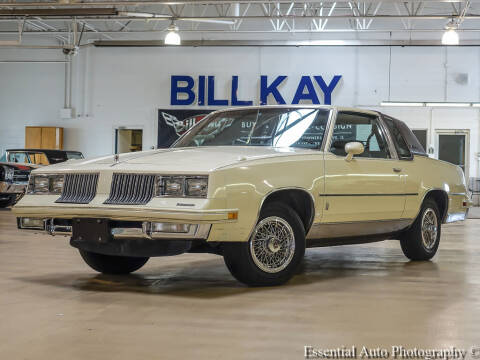 1984 Oldsmobile Cutlass Supreme for sale at Bill Kay Corvette's and Classic's in Downers Grove IL