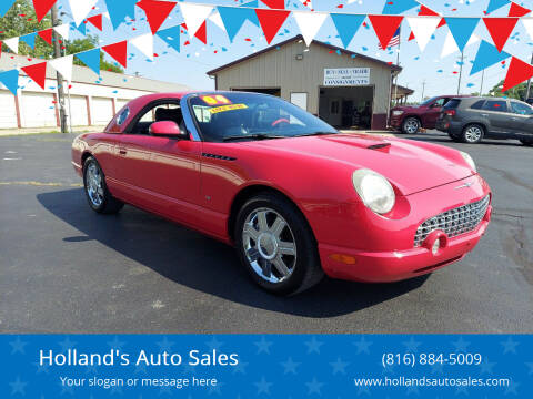 2004 Ford Thunderbird for sale at Holland's Auto Sales in Harrisonville MO