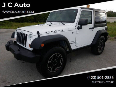 2011 Jeep Wrangler for sale at J C Auto in Johnson City TN